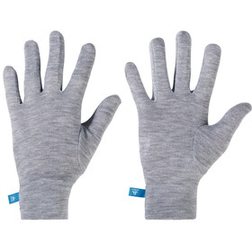 Odlo Originals Warm Guantes Niños, grey melange